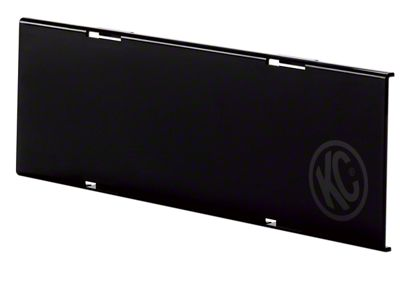 KC HiLiTES 10 in. C-Series Cover - Black (97-18 F-150)