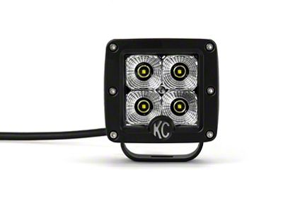 KC HiLiTES 3 in. C-Series C3 LED Cube Light - Flood Beam