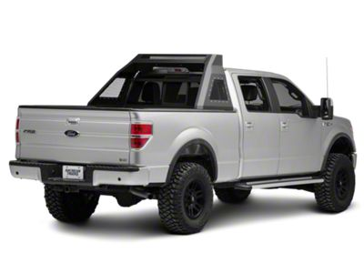 Barricade Aluminum HD Chase Rack - Textured Black (04-18 F-150 Styleside)