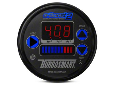 Turbosmart e-Boost2 Boost Controller - 60mm - Black (97-19 F-150)