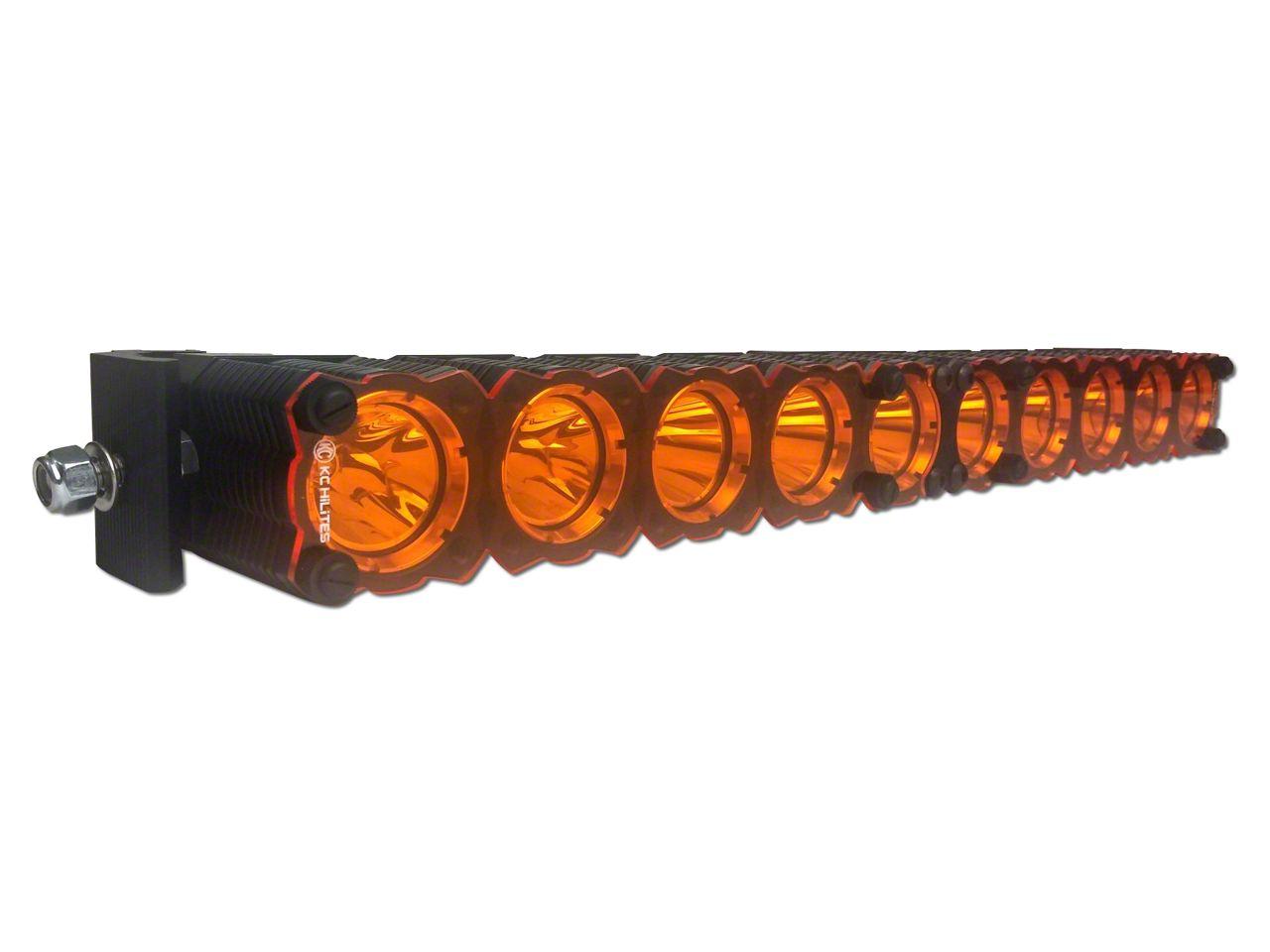 KC HiLiTES 50 in. Amber Light Shield for KC Flex (97-19 F-150)