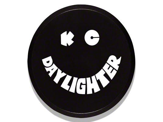 KC HiLiTES 6 in. Daylighter/Slimlite Cover - Black (97-19 F-150)
