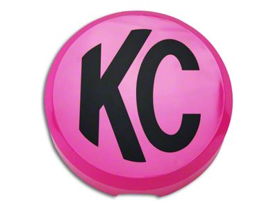 KC HiLiTES 6 in. Daylighter/Slimlite Cover - Pink (97-18 F-150)