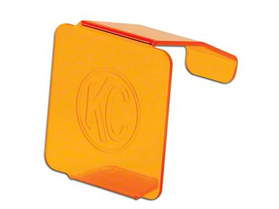KC HiLiTES Hard Cover for 3 in. C3 Cube Light - Orange (97-18 F-150)
