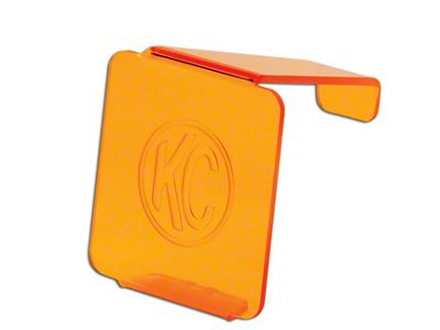 KC HiLiTES Hard Cover for 3 in. LZR Cube Light - Orange (97-18 F-150)