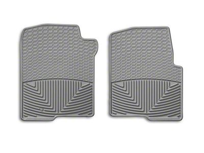 Weathertech All Weather Front Rubber Floor Mats - Gray (04-08 F-150)
