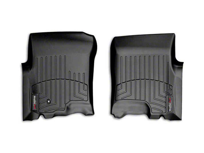 Weathertech DigitalFit Front Floor Liners - Black (01-03 F-150 SuperCrew)