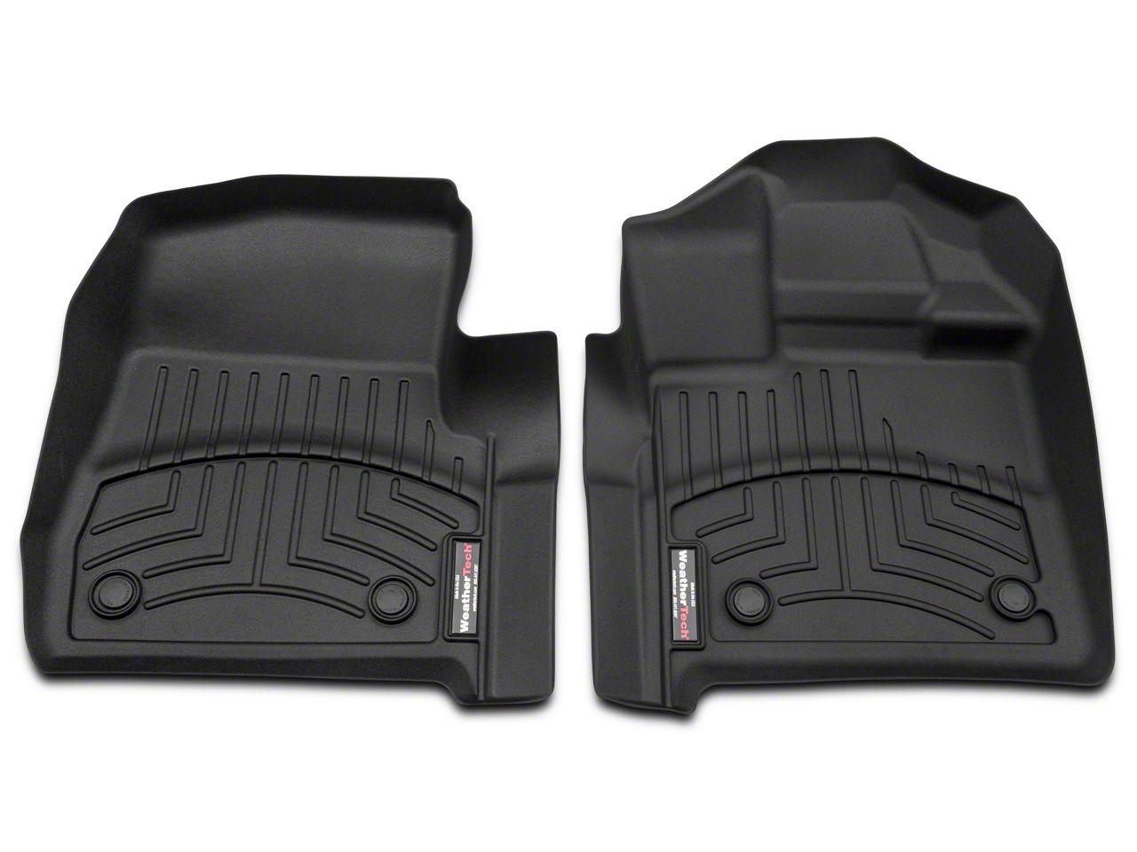 Weathertech DigitalFit Front Floor Liners - Black (15-18 F-150 Regular Cab)