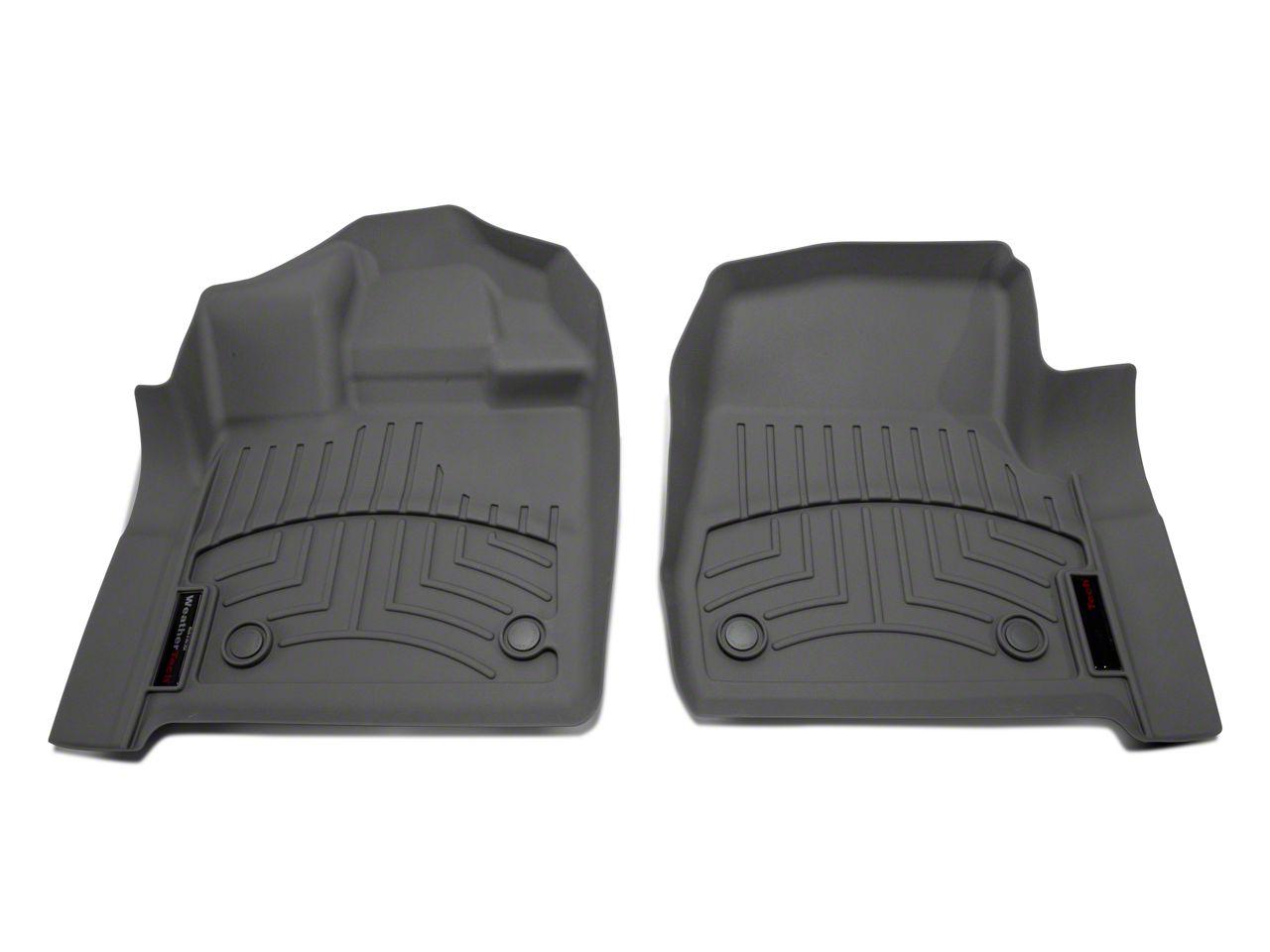 Weathertech DigitalFit Front Floor Liners - Gray (15-19 F-150 Regular Cab)