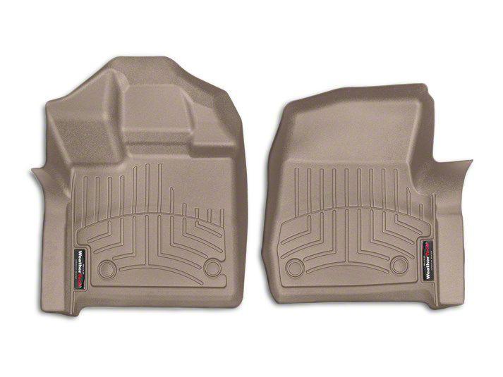 Weathertech DigitalFit Front Floor Liners - Tan (15-19 F-150 Regular Cab)