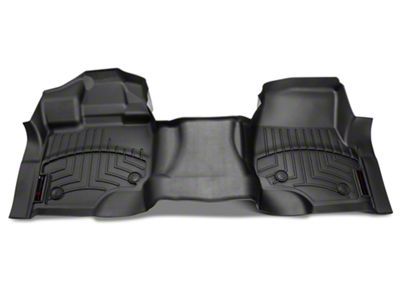 Weathertech DigitalFit Front Over the Hump Floor Liner - Black (15-19 F-150)