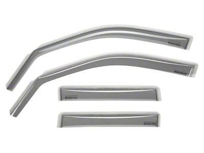 Weathertech Front & Rear Side Window Deflectors - Light Smoke (97-03 F-150 SuperCab, SuperCrew)