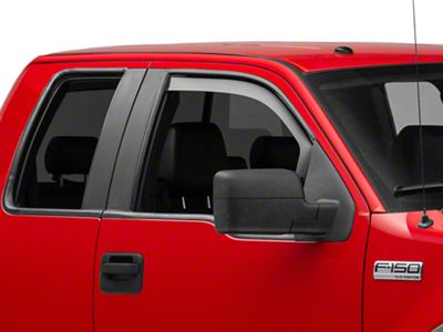 Weathertech Front Side Window Deflectors - Dark Smoke (04-08 F-150)