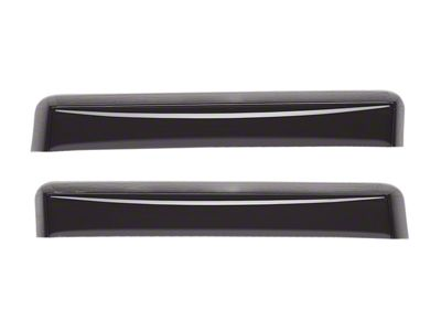 Weathertech Rear Side Window Deflectors - Dark Smoke (97-03 F-150)