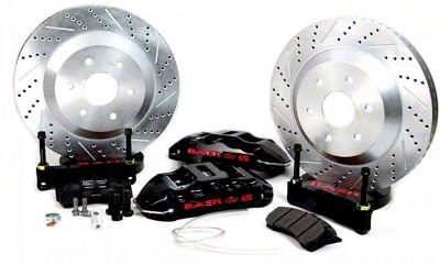 Baer Extreme Front Brake Kit - Black (04-08 2WD/4WD F-150)