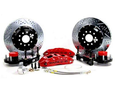 Baer Extreme Plus Front Brake Kit - Black (97-03 F-150)