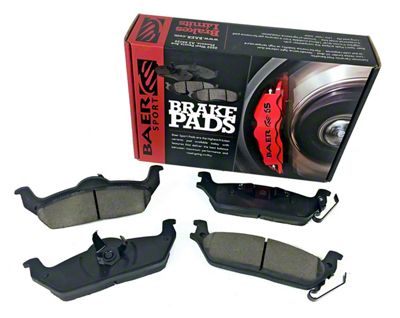 Baer Sport Brake Pads - Rear Pair (04-18 F-150)