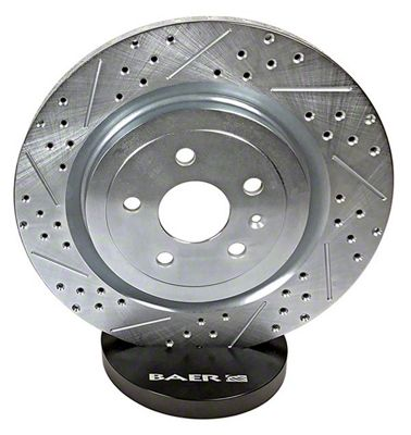 Baer Sport Drilled & Slotted Rotors - Front Pair (97-03 F-150)