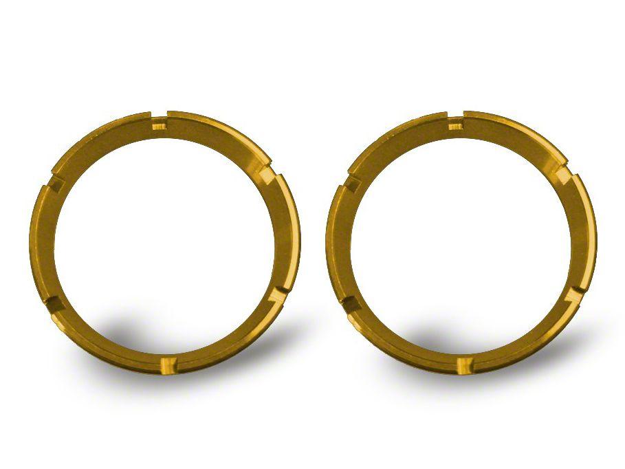 KC HiLiTES Gold Bezel Ring for Flex LED