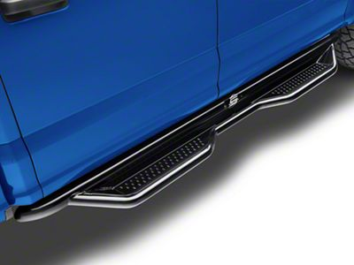Steel Craft Heavy Duty Side Step Bars - Semi-Gloss Black (15-18 F-150 SuperCab)
