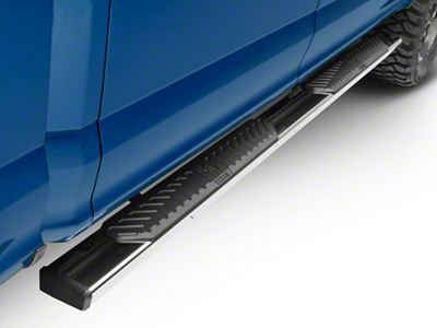 Westin R5 Nerf Side Step Bars - Stainless Steel (15-18 F-150 SuperCab, SuperCrew)