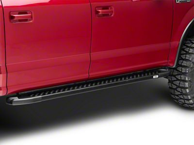 Romik RAL-T Running Boards - Black (15-18 F-150 SuperCab, SuperCrew)