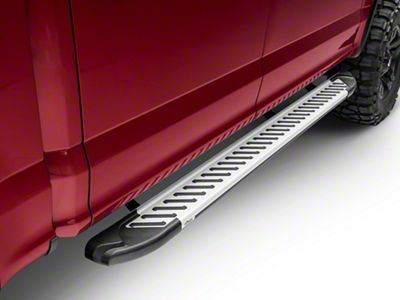 Romik RAL-T Running Boards - Silver (15-19 F-150 SuperCab, SuperCrew)