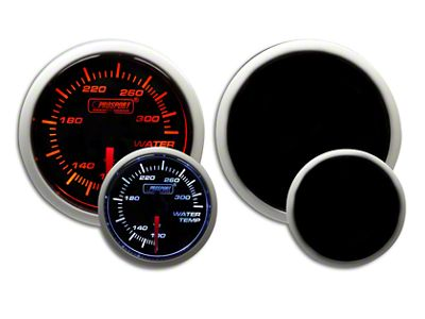 Prosport Dual Color EGT Premium Boost Gauge - Amber/White (97-19 F-150)
