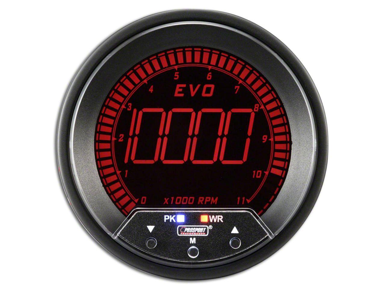 Prosport Quad Color Evo Tachometer - 85mm (97-18 F-150)