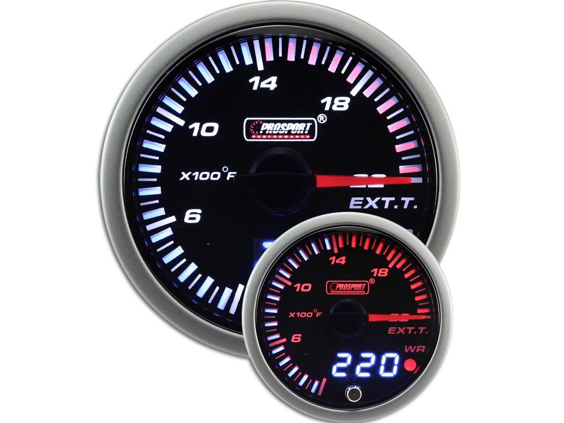 Prosport JDM Exhaust Gas Temperature Gauge - Electrical (97-19 F-150)