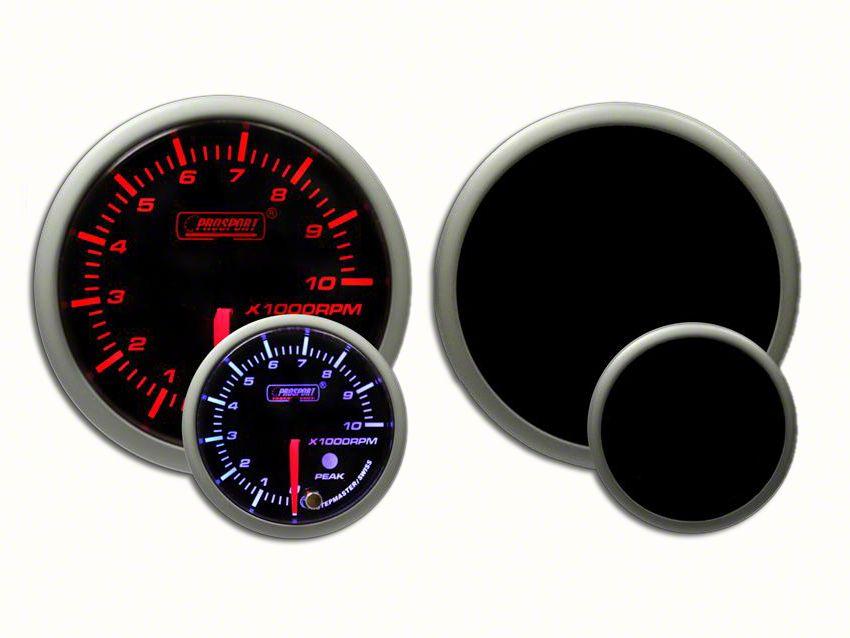 Prosport Dual Color Premium Tachometer - Amber/White (97-18 F-150)