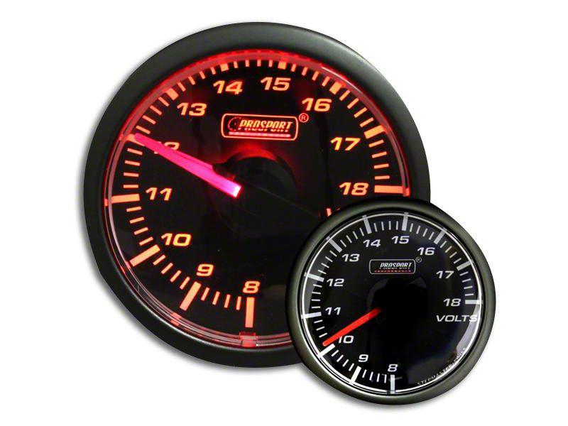 Prosport Voltmeter Gauge - Electrical - Amber (97-18 F-150)