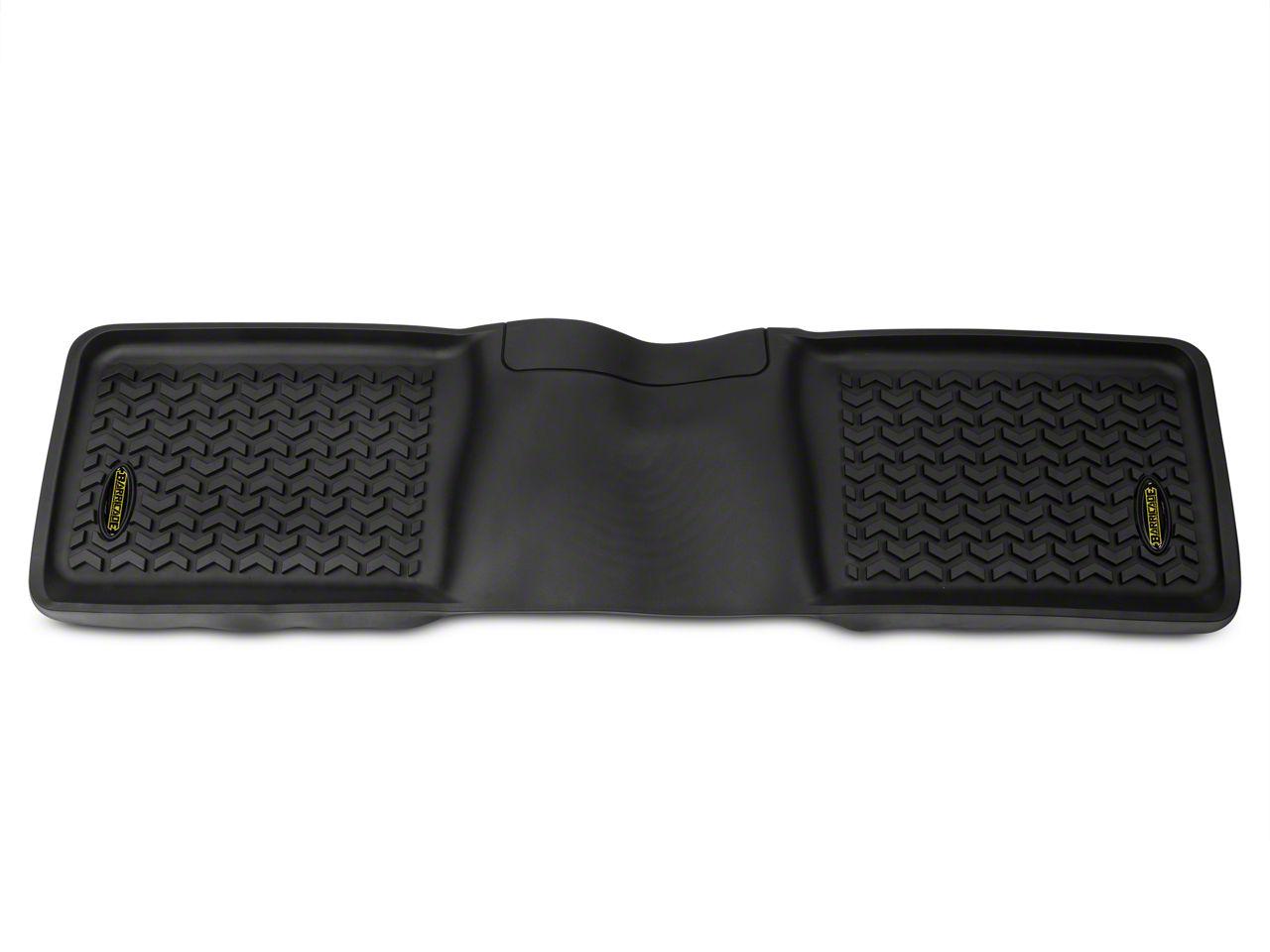 Barricade Rear Floor Liner - Black (97-08 F-150 SuperCab; 04-08 F-150 SuperCrew)