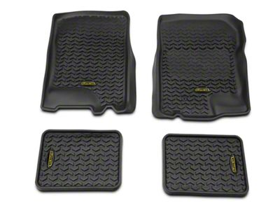 Barricade Front & Rear Floor Liners - Black (97-03 F-150)