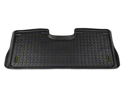 Barricade Rear Floor Liner - Black (15-18 F-150 SuperCrew)