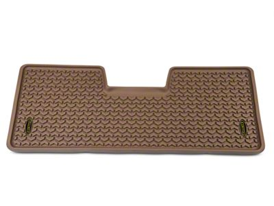 Barricade Rear Floor Liner - Tan (09-14 F-150 SuperCab, SuperCrew)