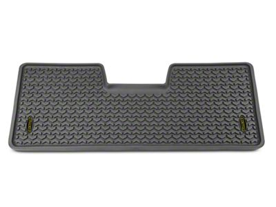 Barricade Rear Floor Liner - Gray (09-14 F-150 SuperCab, SuperCrew)