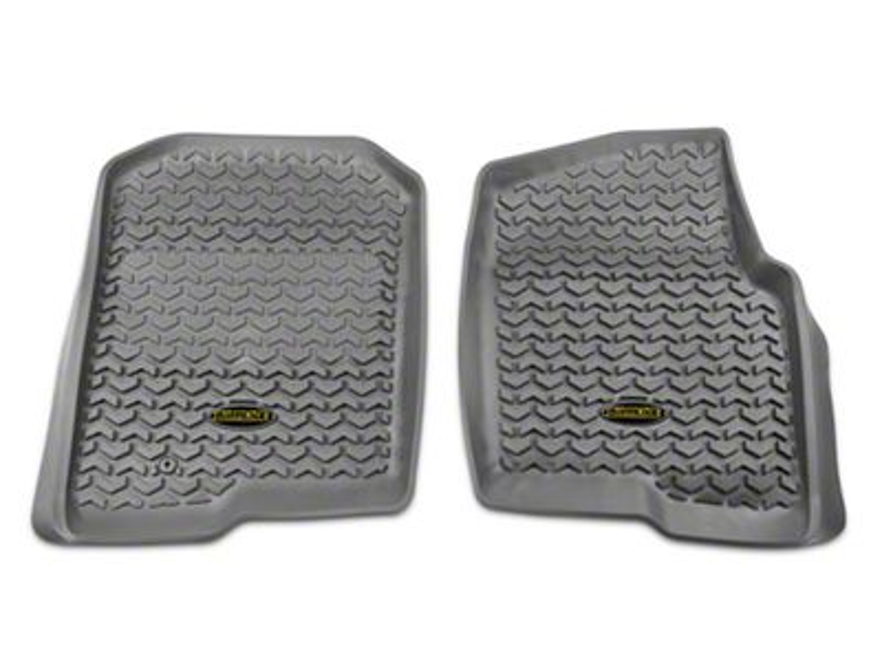 Barricade Front Floor Mats - Gray (04-08 F-150)