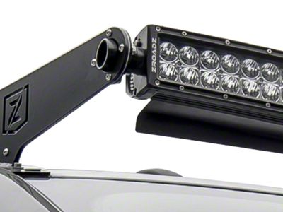 ZRoadz 52 in. Curved LED Light Bar Noise Cancelling Wind Diffuser (97-19 F-150)