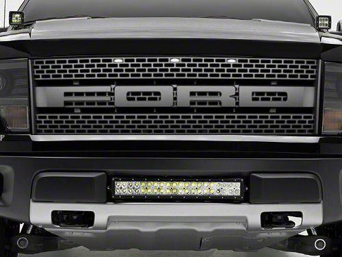 ZRoadz 20 in. LED Light Bar Lower Grille Mounting Brackets (10-14 F-150 Raptor)