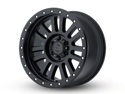 Black Rhino El Cajon Matte Black 6-Lug Wheel - 17x9 (04-19 F-150)