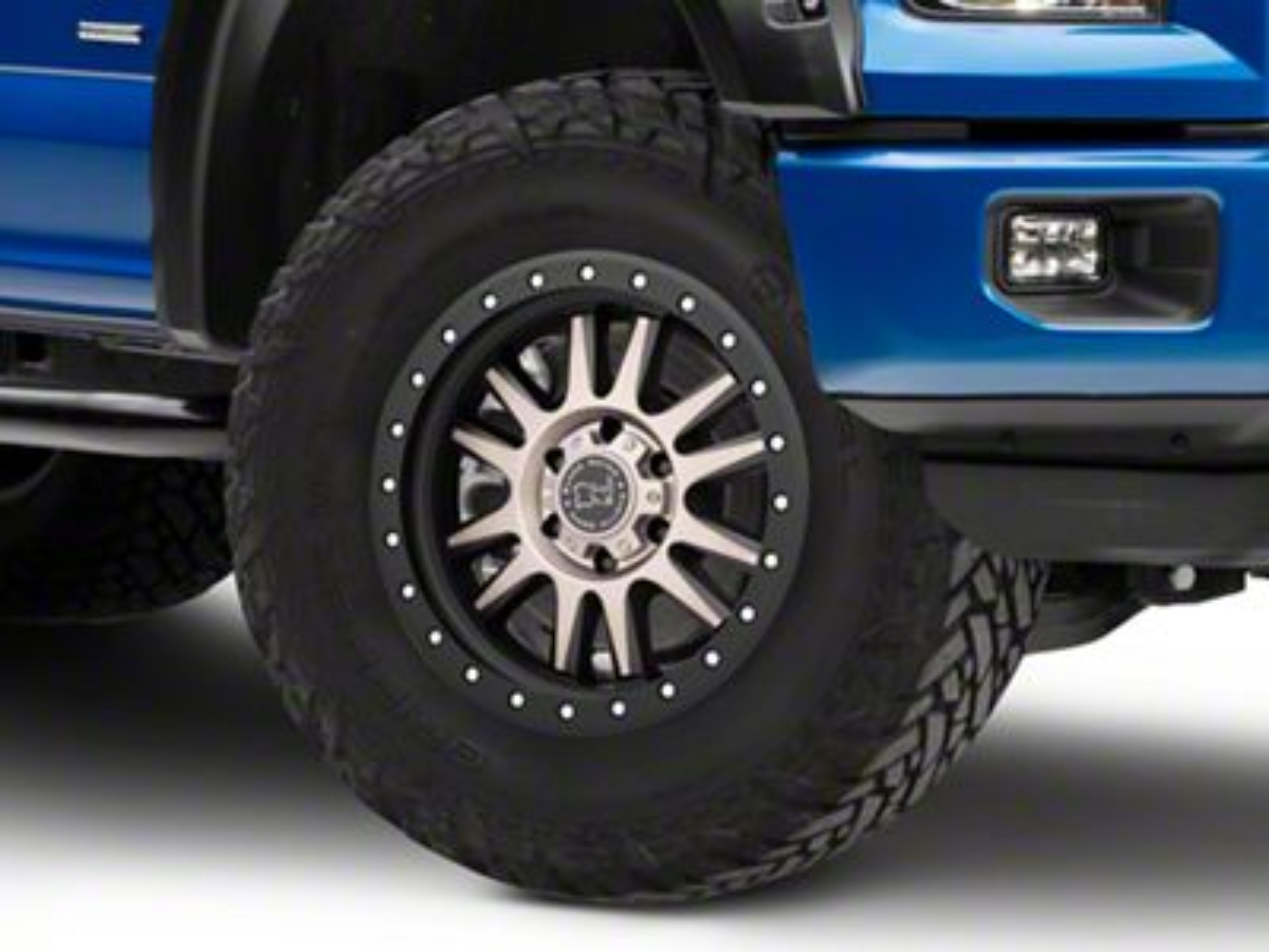 Black Rhino Tanay Matte Black Machined 6-Lug Wheel - 18x9 (04-19 F-150)