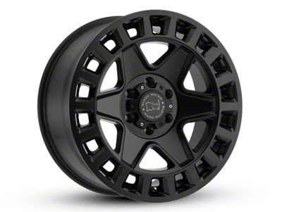 Black Rhino York Matte Black 6-Lug Wheel - 17x9 (04-18 F-150)