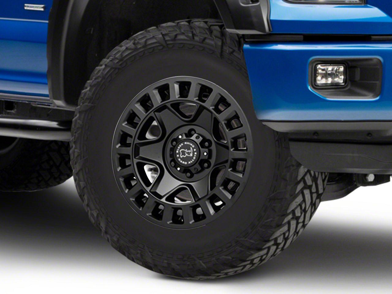 Black Rhino York Matte Black 6-Lug Wheel - 18x9 (04-19 F-150)