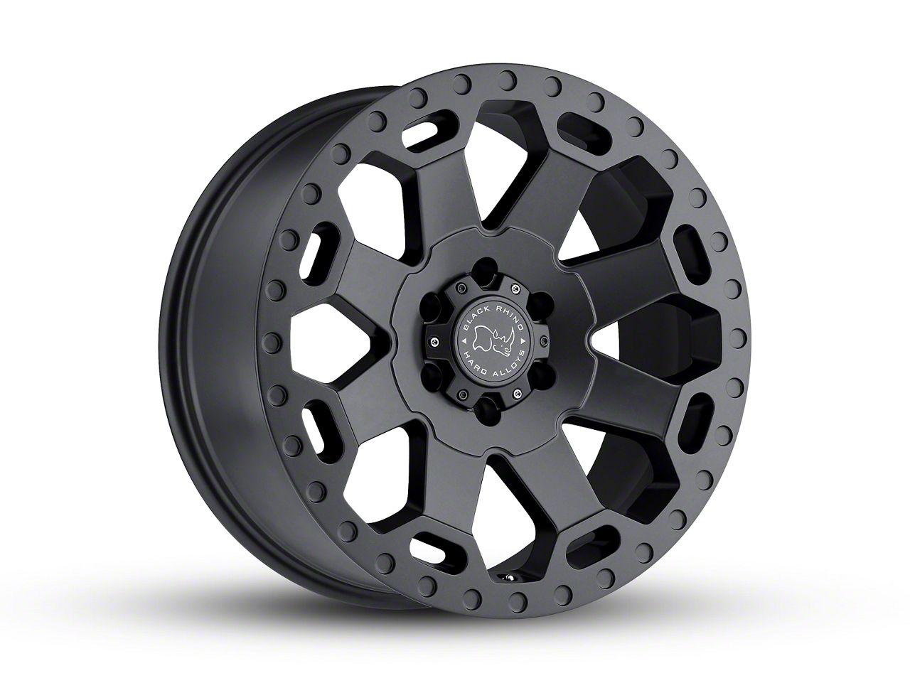 Black Rhino Warlord Matte Gunmetal 6-Lug Wheel - 22x10 (04-18 F-150)
