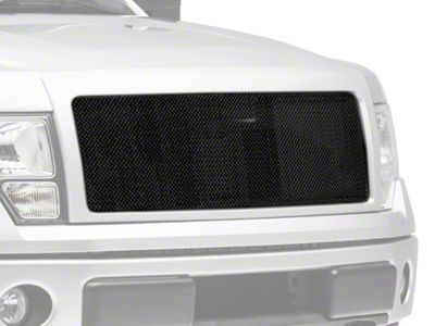Modern Billet Wire Mesh Upper Grille Insert - Black (09-14 F-150, Excluding Raptor)