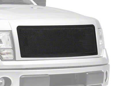 Modern Billet Wire Mesh Upper Grille w/ Frame - Black (09-14 F-150, Excluding Raptor)
