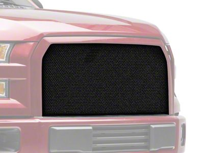 Modern Billet Wire Mesh Upper Grille Insert - Black (15-17 F-150, Excluding Raptor)