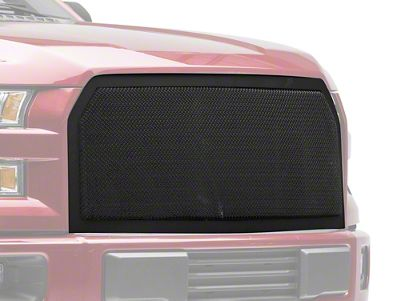 Modern Billet Wire Mesh Upper Replacement Grille - Black (15-17 F-150, Excluding Raptor)