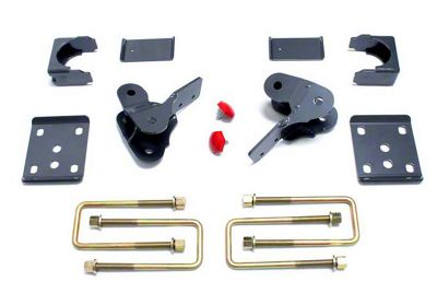 Max Trac Rear Flip Lowering Kit - 4 in. (15-19 F-150, Excluding Raptor)